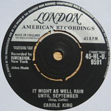 It Might As Well Rain Until September