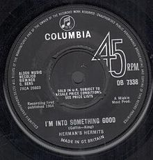 I'm into Something Good